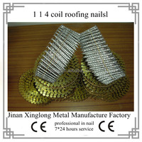 quality polished common iron coil pallet nails (factory)
