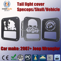 taillight protection cover, aluminum light cover