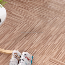 New fashion Indoor usage self adhesive PVC plastic floor covering