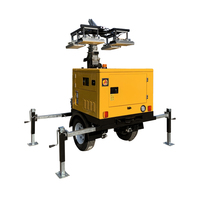 Diesel Generator Portable Led Telescopic Light Tower