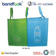 Hot sale eco friendly reusable print pp non woven shopping bag