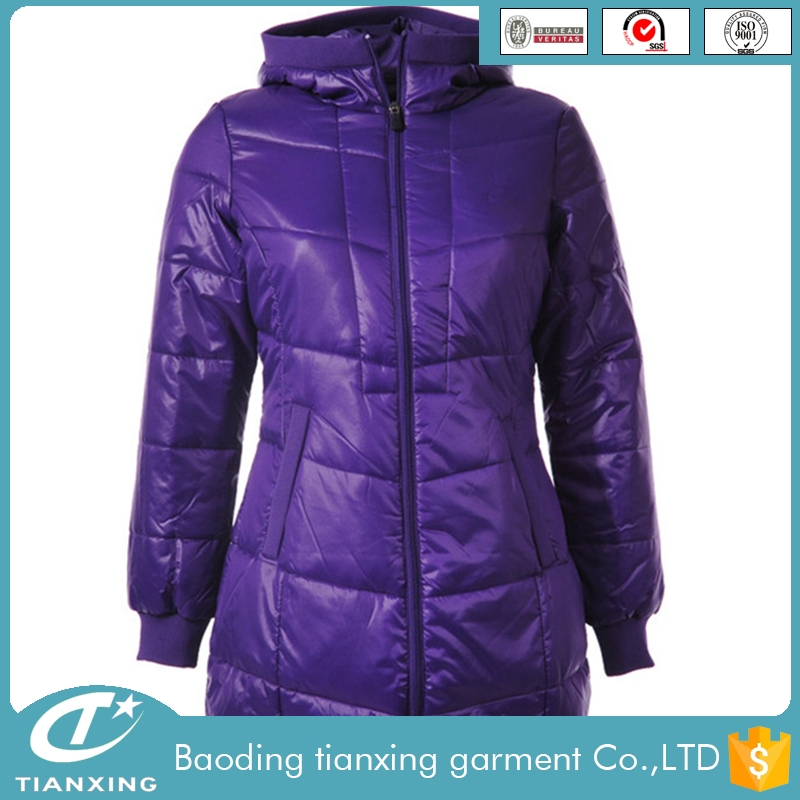 2016 latest design high quality used long winter coats