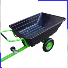 Easily transport 2 wheel tipping trailer
