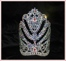 shipping fee rhinestone <strong>crown</strong> for pageant