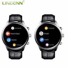 2018 CE Rosh MTK6580 Quad Core Android 5.1 2G 16G 3G Wifi GPS Android Mobile Smart Watch 2017