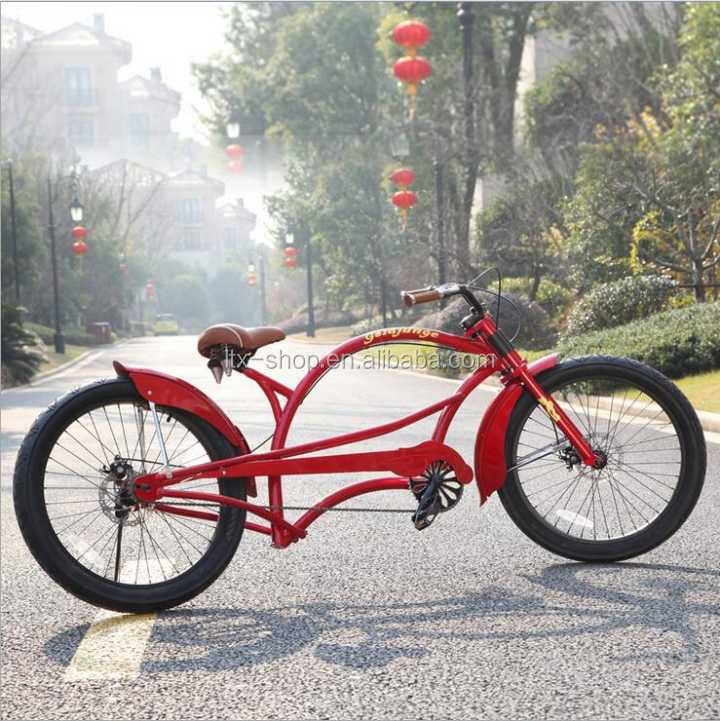 New Arriver Cool Harley Bicycle 26 Inch Big Wheel Fashion Two Wheels Bicycle For Sale
