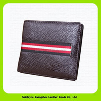 14314 Fashion cowhide ninja wallet factory manufacture