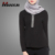 Latest simple plain tunic tops long sleeve muslim tops casual woman tops islamic clothing