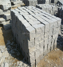 Natural stone standard kerbstone sizes grey granite curbstone