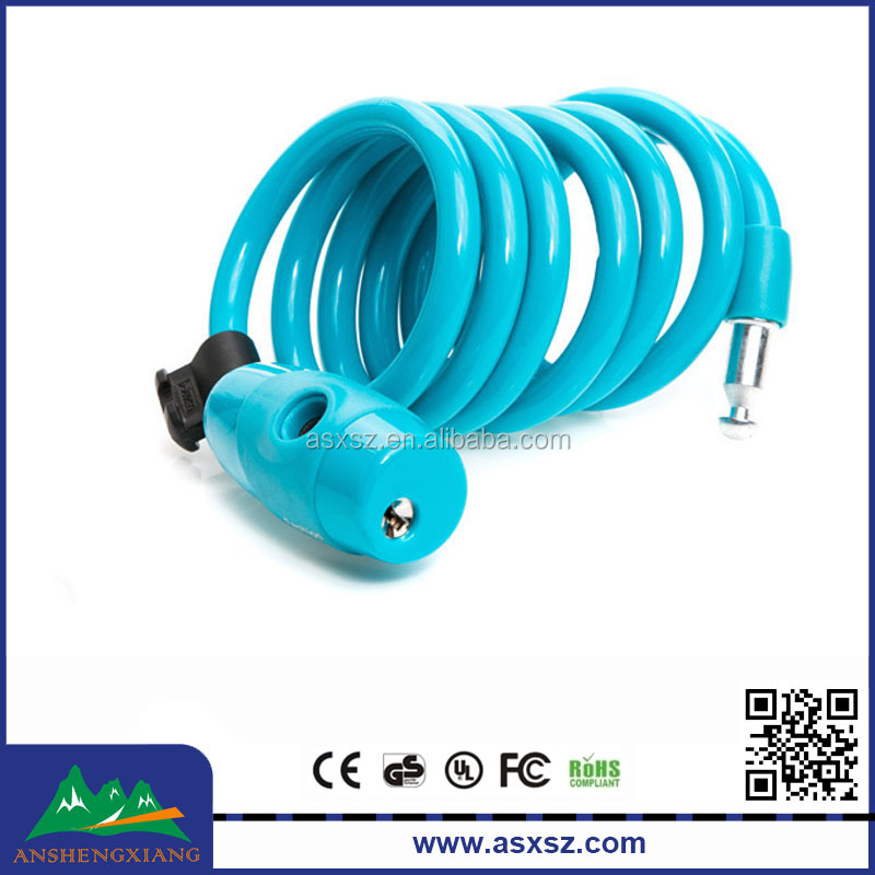 Top Security cable lock color available bicycle lock wholesale price bike lock
