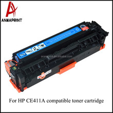 Alibaba China SupplierUniversal toner cartridge CE411A laser jet Cartridge compatible for HP Printers