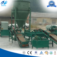 China Advanced technology for recycling waste tires to rubber powder production line