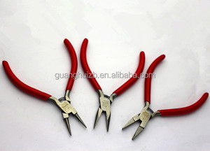 3pcs jewelry tools flat chain round nose pliers for jewelry beading making cutting