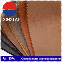 DONGTAI pu laminated leather for sofa made in china
