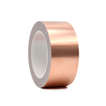 Copper Foil Tape with Conductive <strong>Adhesive</strong> Designed For Guitarists and electronics EMI.