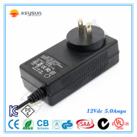 DC 12V 5A 60W SMPS power supply 220V transformers for leds