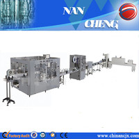 2000-18000BPH automatic bottled mineral water packaging line