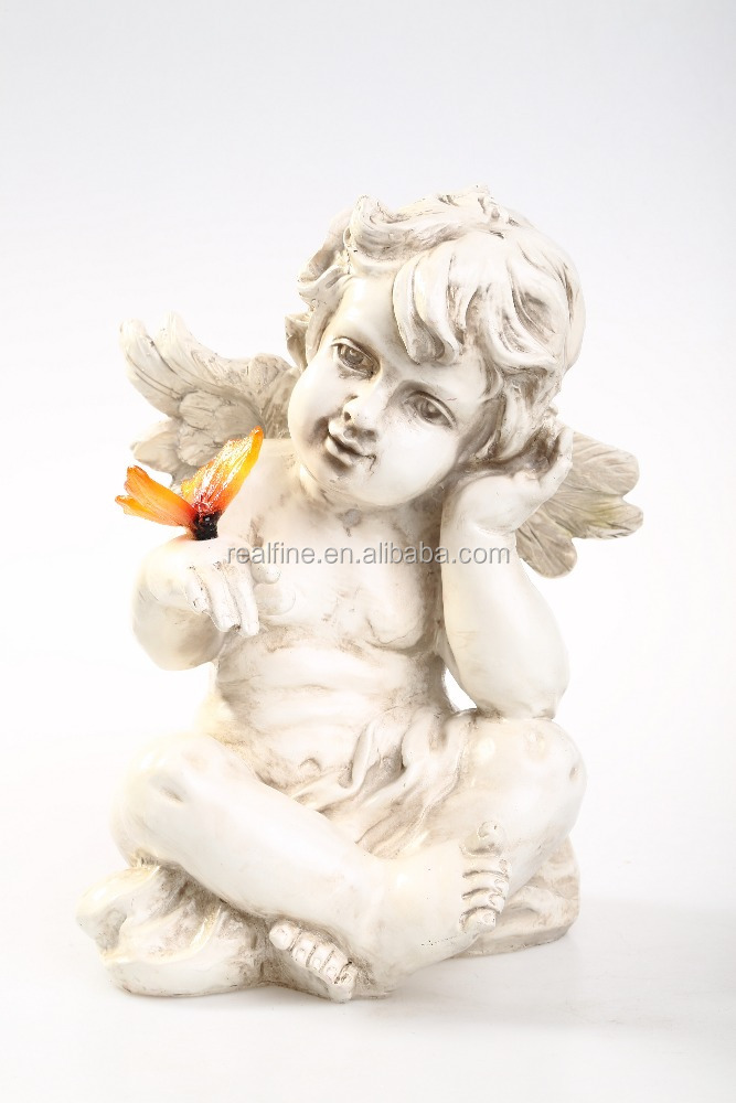 Wholesale Resin Small Angel Statues, Little Angel Figures for Sale
