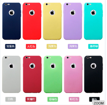 2016 Newest Fashion Colorful Soft TPU Protective Phone Case For iPhone 6 plus 5.5nch
