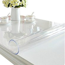 EU Standard Waterproof Soft Clear Transparent Pvc Plastic Table Cloth