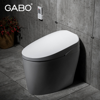 One Piece Ceramic Automatic Vacuum Toilet for Sale