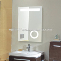 Magnifying Shaving Lighted Vanity Mirror For Hotel With LED Light