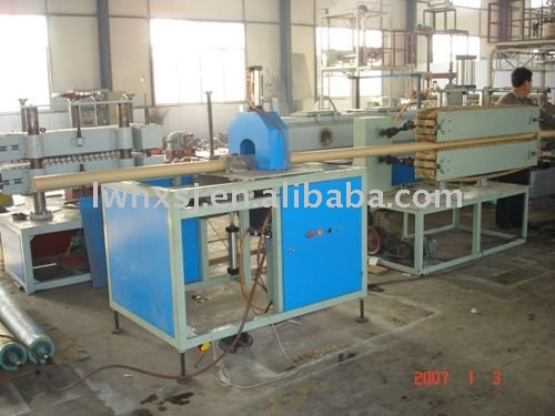 PVC Pipe Extrution Line with Conial Double Screw