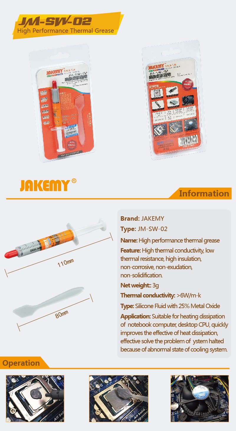 Jakemy Thermal Grease