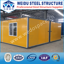 China gold supplier luxury prefabricated house for france