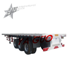 TRI AXLE 40 ft FLAT-BED TYPE CONTAINER SEMI TRAILER
