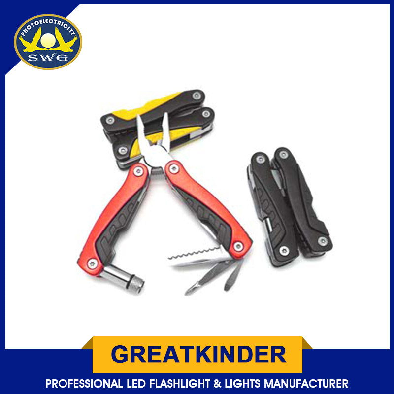 High Quality Multifunction Stainless Aluminum Fishing Pliers pocket knife multi tool