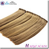 Wholesale Double Drawn Very Thick korea glue hot sale blonde straight hair