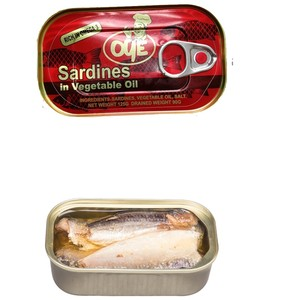 canned sardine from morocco in vegetable oil