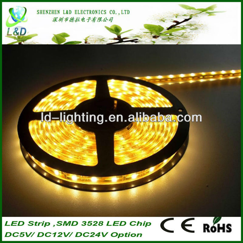 High quality 3528 smd 12v rechargeable battery led strip