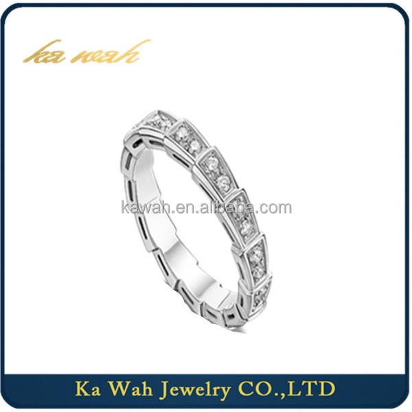 Hot Selling 18K White Gold Diamond Engagement Ring Bridal Jewellery