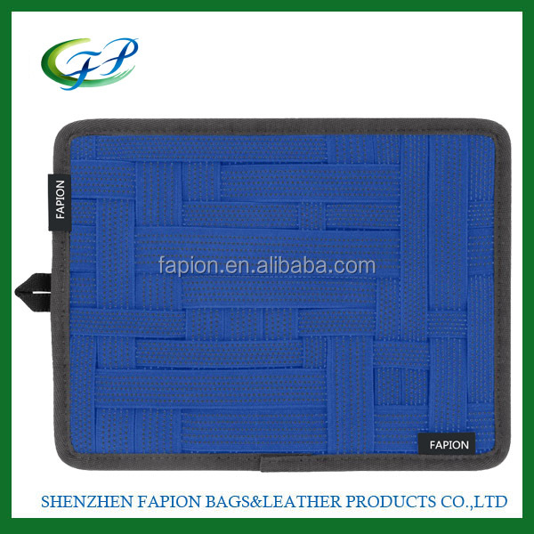 Grid organizer case sleeve for ipadNetbook laptop