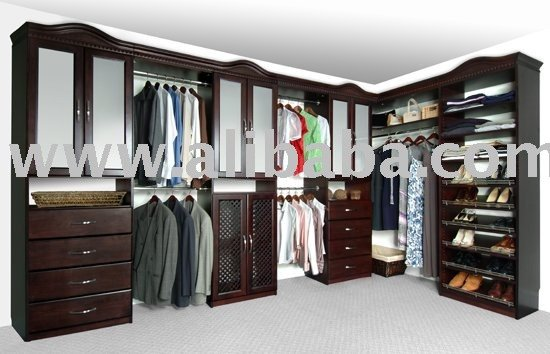 Closet Organizers - Walk-In - Solid Wood