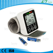JZK-002A wrist watch free digital electronic blood pressure monitor