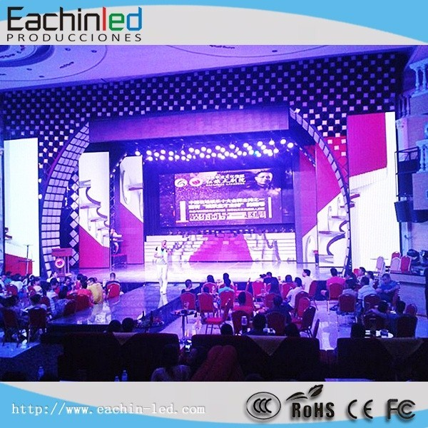 The Best P3 Indoor Full Color portable Led display wall for electronic advertising in alibaba