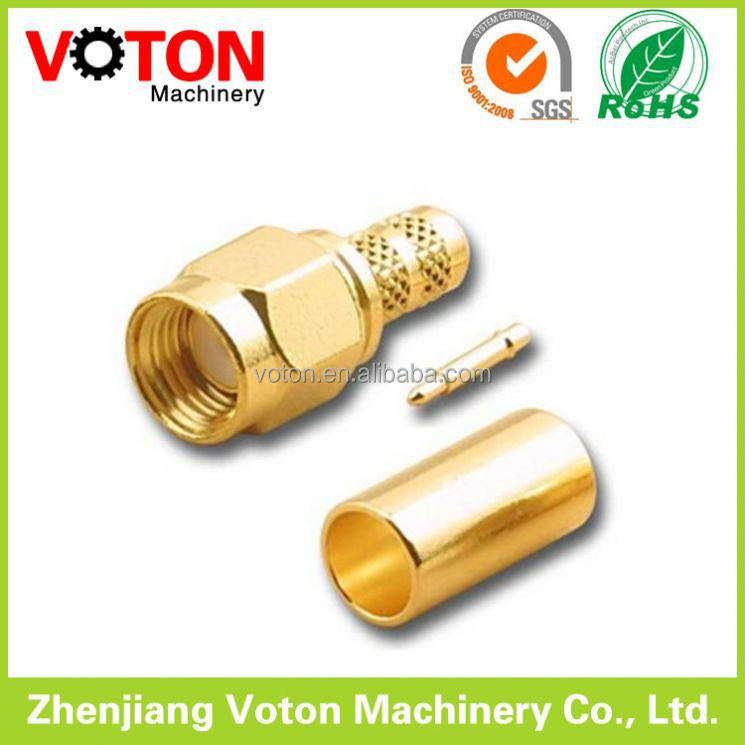 Competitive Price 50 Ohm sma type male crimp connector