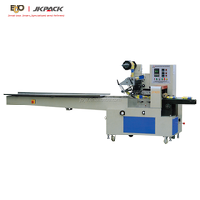 Full Automatic JY-420/DXD-420 Pillow Type Pita Bread Roll Wrapping Machine