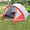 Portable 3-4 person waterproof camping tents for outdoor
