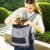 Foldable travel bag dog carrier backpack