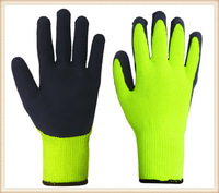latex coated work gloves cut resistant gloves guantes