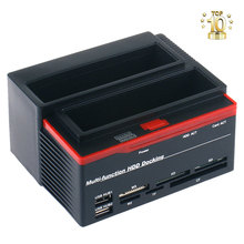 All in One USB 2.0 Dual SATA IDE HDD Docking Station
