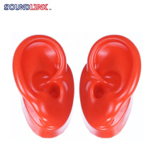 2017 hearing aids red silicone ear model for hearing aid display