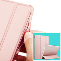 Sleeping Tablet Case For iPad Pro air 1.2Cover with Tpu Sides