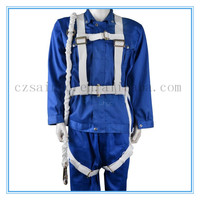 Hot selling electrical safety belt lineman safety belt and climbing safety harness