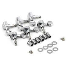 6R Right String Tuning Pegs Tuners Chrome Inline Guitar Machine Head 6R Right est