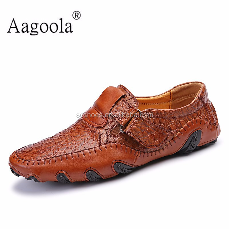 2016 new hot sale england men shoes doug shoes frosted tide male lazy leather men's shoes zapatillas flats men
